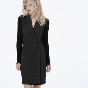 NWT JAMES PERSE crepe blazer dress 2